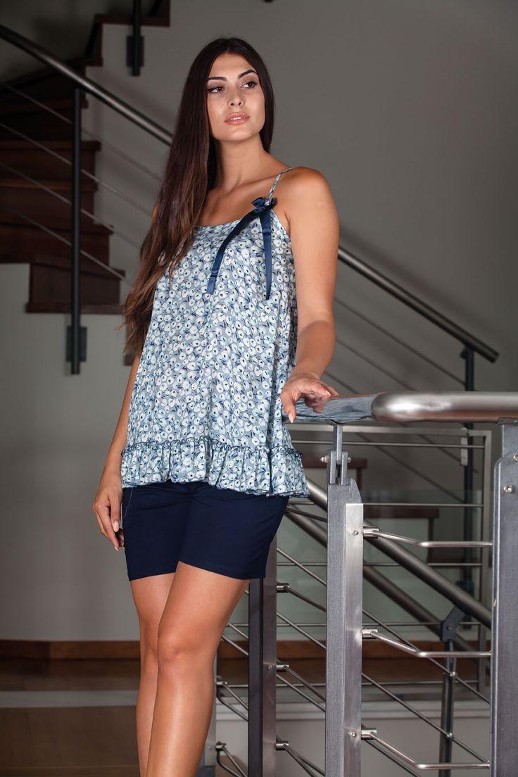 Claire Katrania Homewear με Σορτς Τύπος C-8914 – Tartora.gr