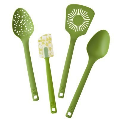 I have a weakness for pretty green kitchen things...