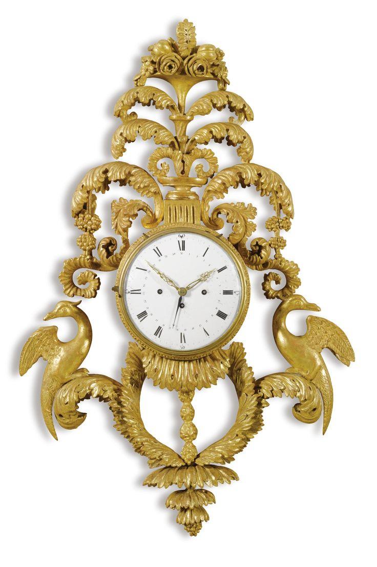 374 best banjo clocks wall clocks bracket clocks cartel clocks carved giltwood grande sonnerie wall clock austrian circa 1820 amipublicfo Images