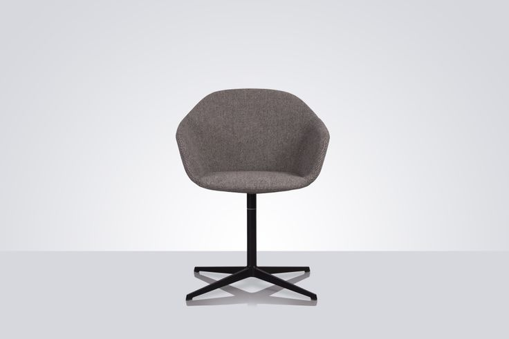 A simple meeting chair with a slim and elegant profile by Modus. Constructed from moulded foam with a cast aluminium base, Quiet has a soft, rolled edge that gives it a distinct line but nonetheless allows the chair a quiet presence, hence the name.