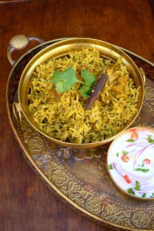 Mother-in-law's Chicken briyani / biryani – Tamil Nadu style recipe