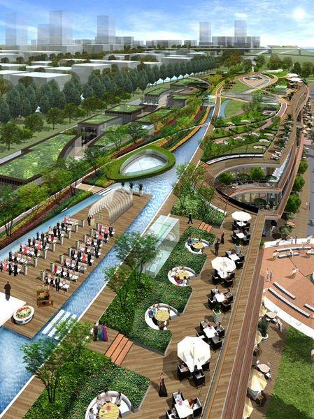 Resultado De Imagen Para Parque Lineal Urbano Dise 241 Os
