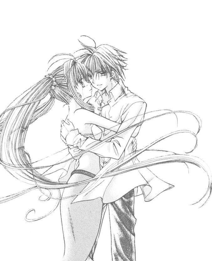 Kaito and Lucia / Rucia Mermaid Melody by Pink Hanamori