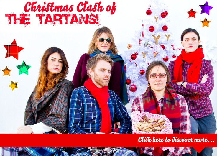 CHRISTMAS CLASH OF THE TARTANS!!!!!    Tartan up your Life NOW!   Click on the image to download :     ** the recipe ** the song ** the wallpaper   or visit:     http://xmasclashofthetartan.altervista.org/