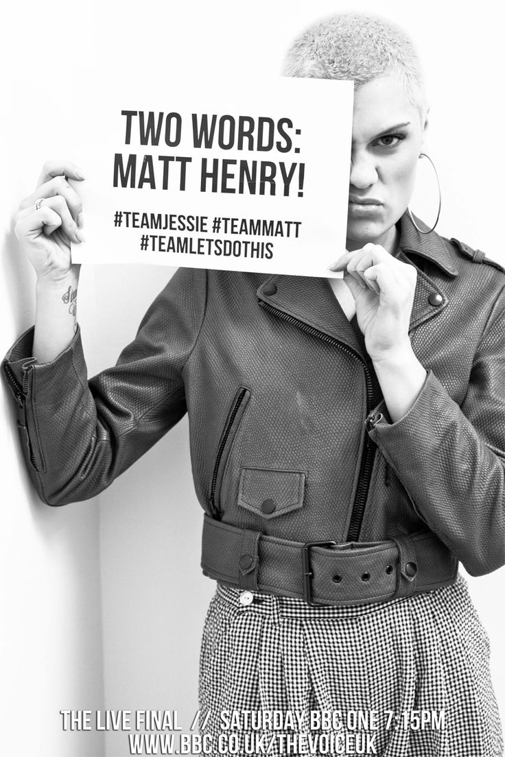 We interrupt this timeline for a message from the #teamjessie party... #thevoiceuk #matthenry #jessiej