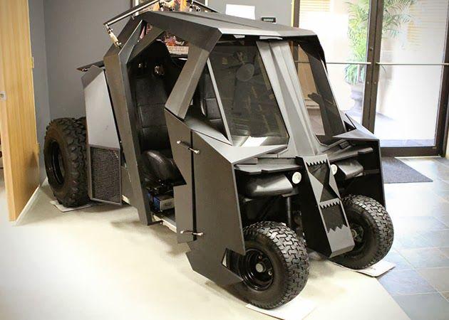 BATMAN TUMBLER GOLF CART Awesome Gift Ideas Pinterest Golf carts - golf cart attendant sample resume