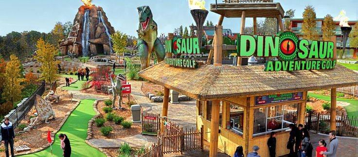 Dinosaur Adventure Golf | Clifton Hill, Niagara Falls Canada