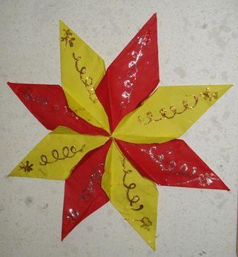 Knutselen: ster