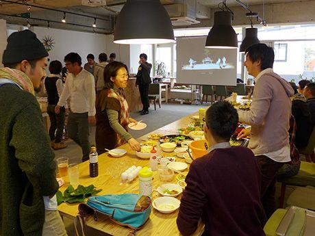 地域資源の発掘、来年も-姫路の若者ら決意新たに「望年会」(写真ニュース)