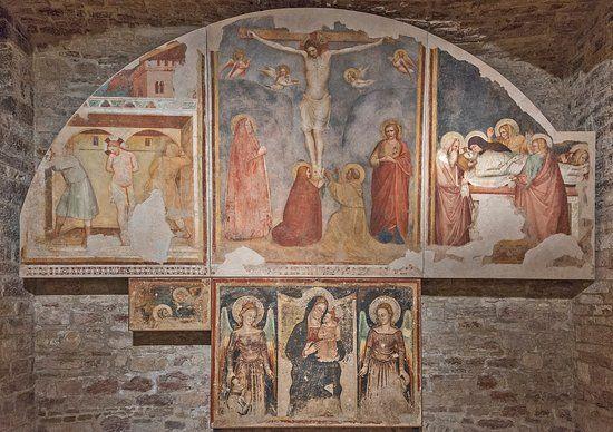 Puccio Capanna 1334. Assisi, Museo Diocesano e Cripta di San Rufino