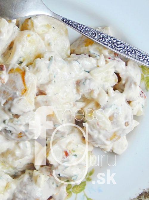 Netradiční vánoční bramborový salát