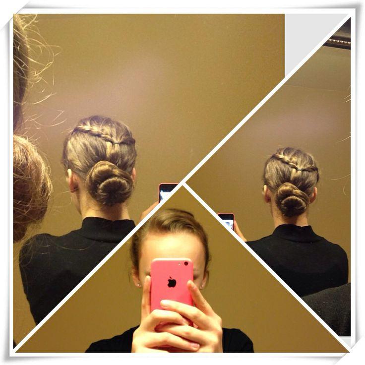 Easy updo for long hair   Hair to Try   Pinterest