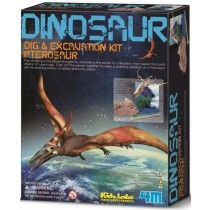 4M - Dig a Dino Skeleton - Pterosaur And another to complete the set for Mr 5! #EntropyWishList #PinToWin
