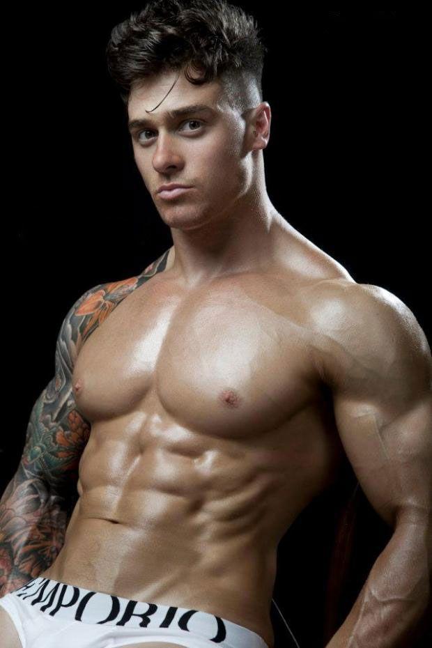 Lewis Harrison's chest