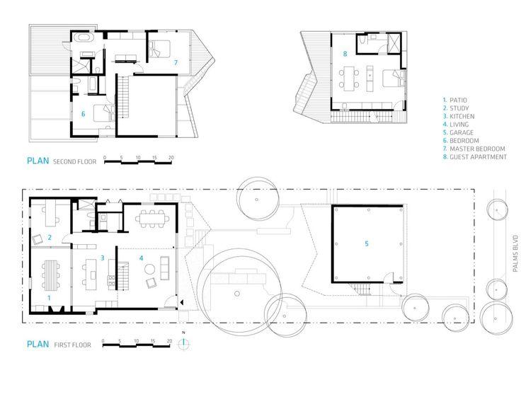 Venice House,plans
