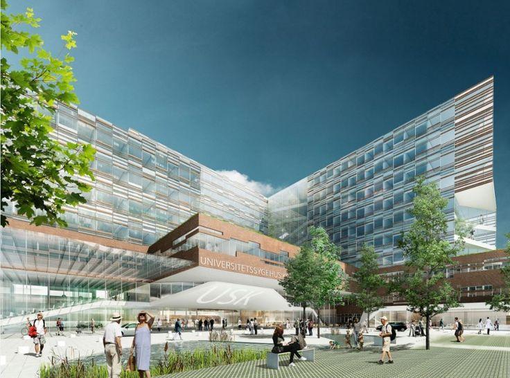 Køge University Hospital Winning Proposal / Rådgivergruppen USK