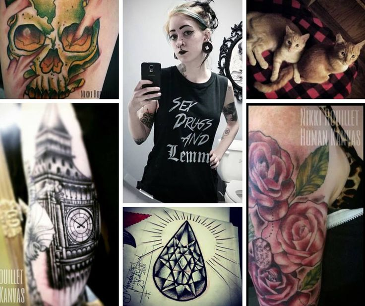 Meet Nikki Rouillet Tattoos. She loves her cats, maybe even a crazy cat lady and definitely a crazy good artist. Check out more of her work https://instagram.com/nikkirouillet/. #YYC #YYCTattoo #YYCArt