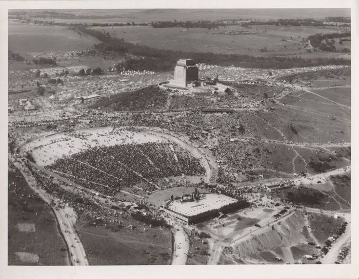 Voortrekker Monument inauguration 1949