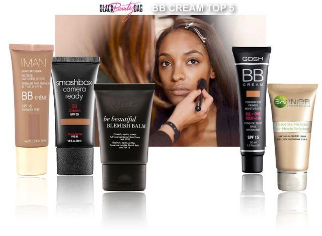 BLACKBEAUTYBAG - blog beauté, blog beauté noire: MON TOP 5 DES BB CREMES POUR PEAUX NOIRES & METISSEES
