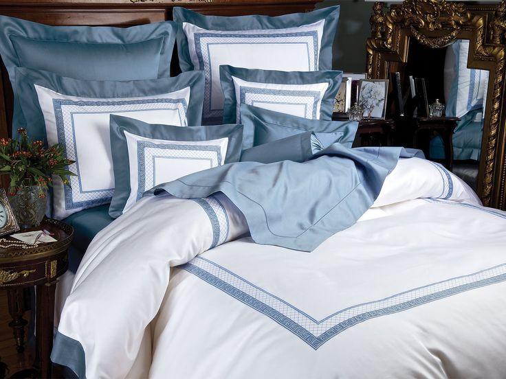 Acropolis Bedding - Fine Bed Linens - Luxury Bedding - Italian Bed Linens - Schweitzer Linen