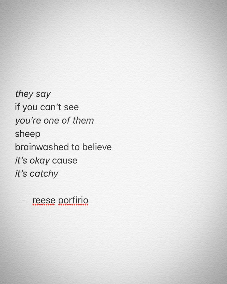 "one of those ""stay woke"" bros • ✊ • #poetry #poem #poetrycommunity #poetsofinstagram #poetsofig #canadianpoets #canadianwriters #canada #writing #writers #writersofinstagram #writingcommunity #writersofig #they #sheep #sheeple #staywoke #itsokay #catchy #brainwashed #believe #artheals #mentalhealth #awareness #reeseporfirio #follow #instagram #twitter #googleplus #facebook #tumblr #wordpress #blog #blogger"