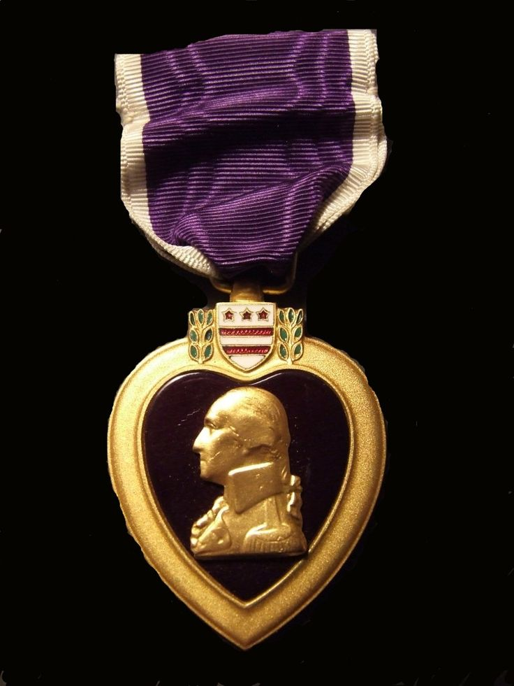 Purple Heart awarded to those being wounded or killed in any action against an enemy of the United States or as a result of an act of any such enemy or opposing armed forces