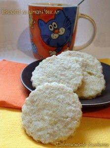 Biscotti al limone Dukan senza uova ricetta