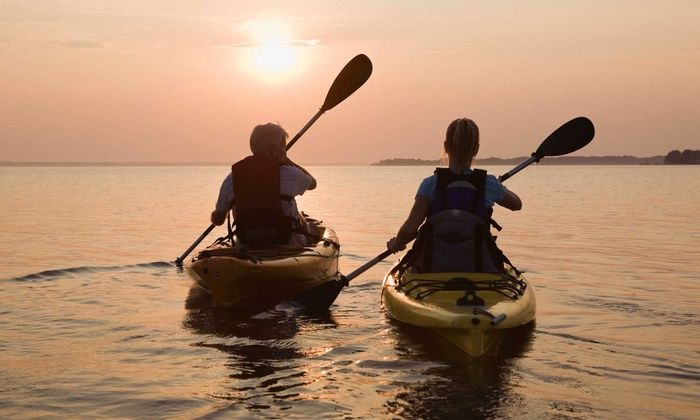 Texas Rowing Center - Old West Austin: 2-Hour Kayak or SUP Rental for 1, or 2-Hour Kayak or Canoe Rental for 2 or 4 at Texas Rowing Center (Up to 76% Off)