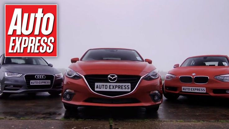 Mazda 3 vs Audi A3 & BMW 1 Series group test - three stylish family hatchbacks are pitted against each other - the Mazda 3, Audi A3 and BMW 1 Series.