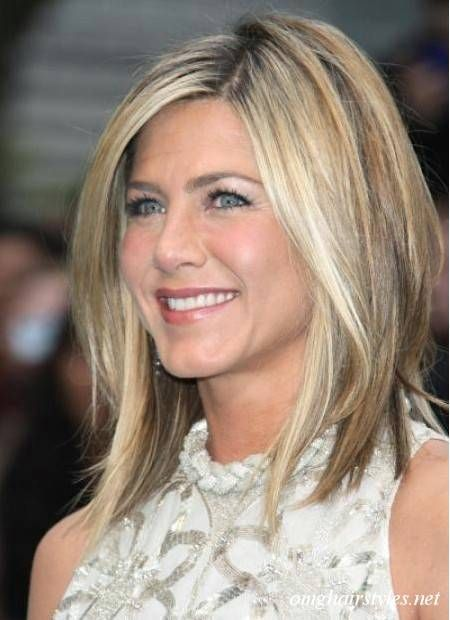 Hottest Long Layered Bob. Jennifer Aniston is a shoe-in to win our vote for this lightly, long layered bob hairstyle.