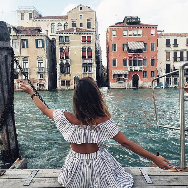 Grand Canal #CollageOnTheRoad #venezia #revolveme