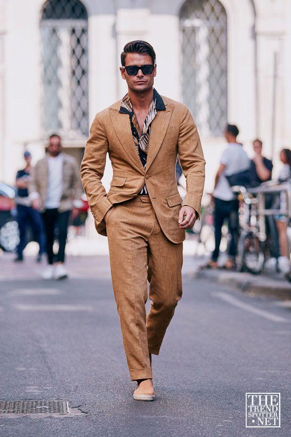 Milan Men S Fashion Week Spring Summer 2020 Street Style 110 In 2020 Men S Summer Fashion Trends Cool Street Fashion Mens Fashion Inspiration
