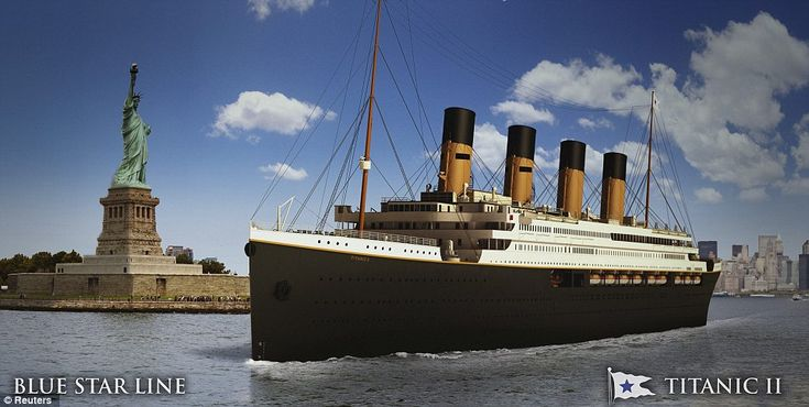 The Titanic sails again: Australian tycoon unveils plans for perfect replica of doomed vessel (except with a few more lifeboats)