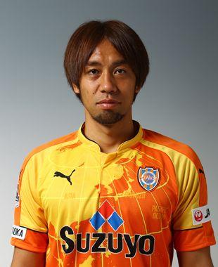 MF 7番 本田 拓也。清水エスパルスの選手一覧