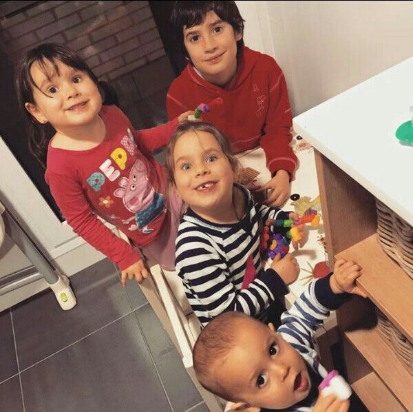 Julen,Laila, Irati y Aimar