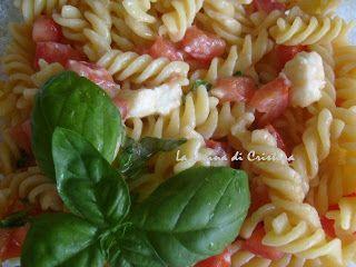 Pasta al pomodoro fresco - Paste cu rosii proaspete