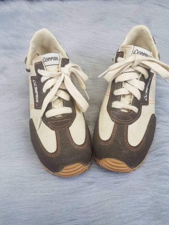 Vintage Olympian Athletic Shoes Vintage Sneakers 70s 80s Sneakers