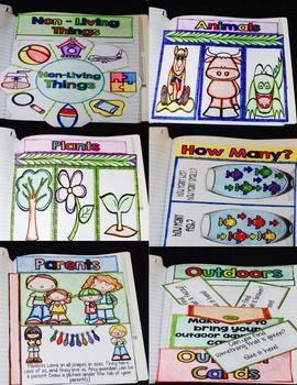 Science Interactive Notebook - Kindergarten