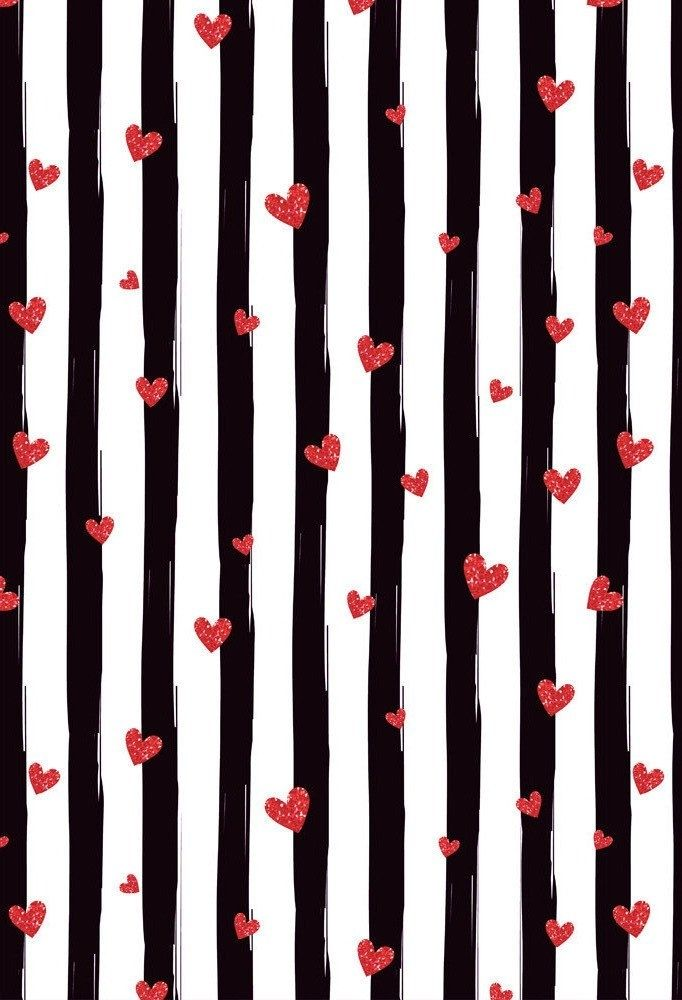 5x7ft Photography Backdrops Birthday Decorations Black And White Stripes Backdrop Party Wedding Background Banner Red Heart Baby Shower Valentines Wallpaper Iphone Valentines Wallpaper Valentines Day Background