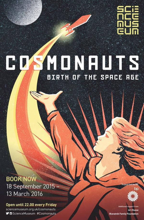 Our #Cosmonauts font was designed for the exhibition by Kellenberger White  http://www.sciencemuseum.org.uk/cosmonauts  via @sciencemuseum