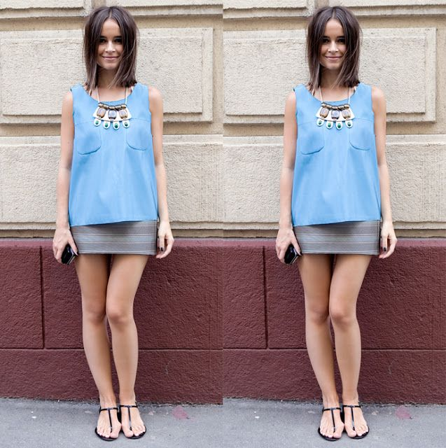 short skirt and flat sandals outfits with flats