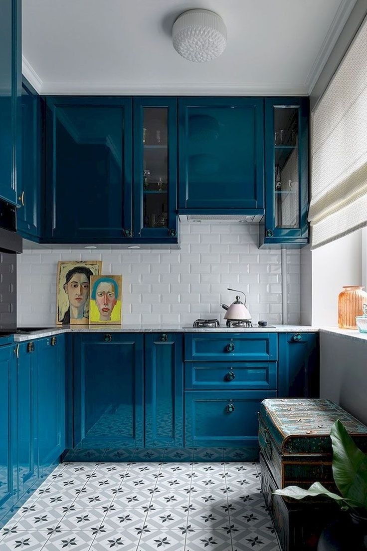 80 Genius Small Apartment Decorating Ideas Kitchen Design Small Small Apartment Kitchen Interior Design Kitchen