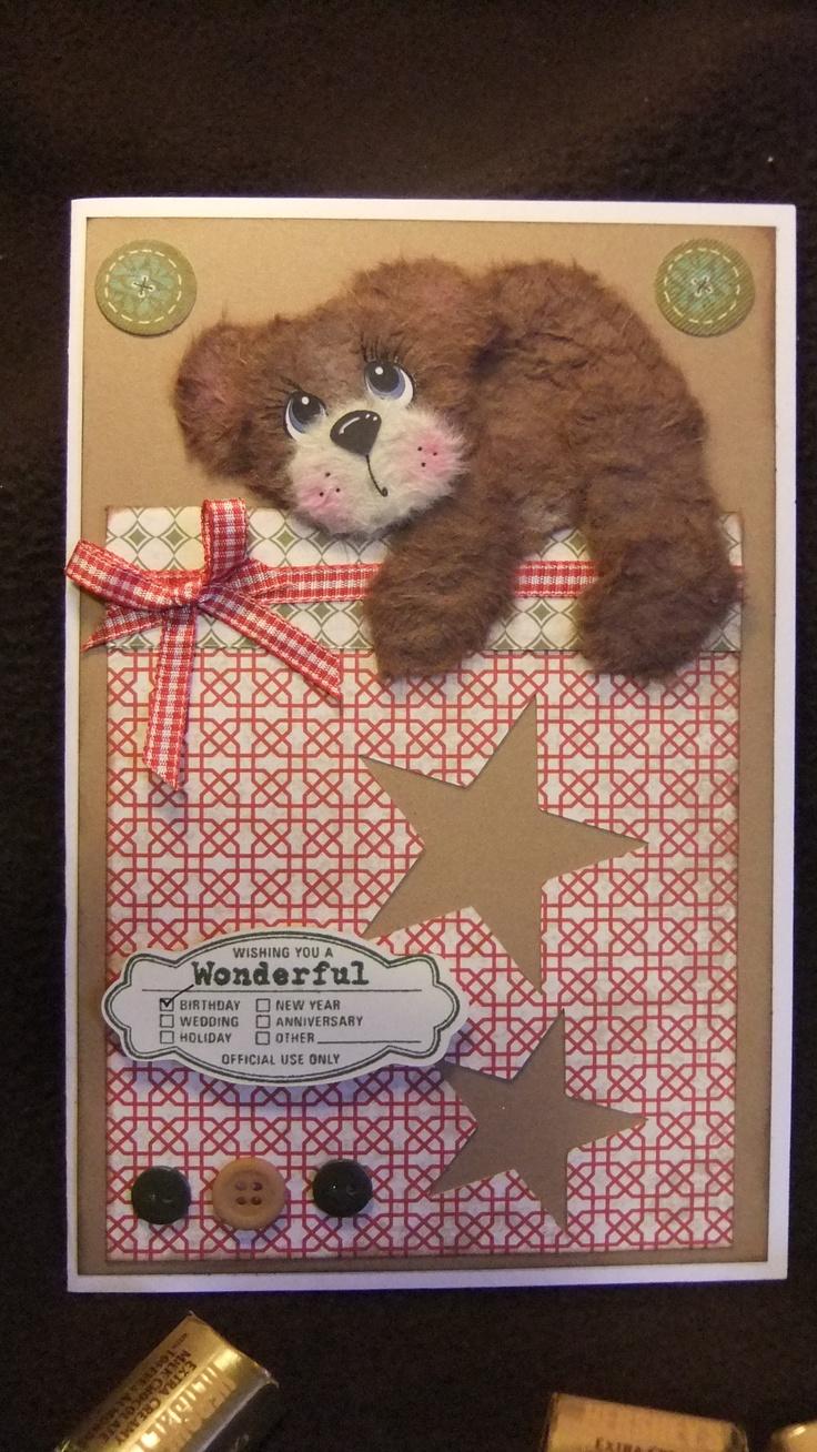 tear bear card