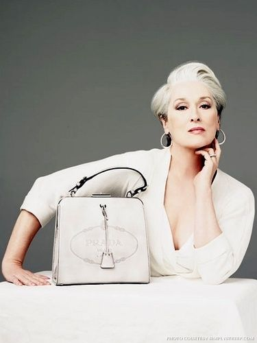 Meryl Streep. THAT'S how you age beautifully! Powerful too.
