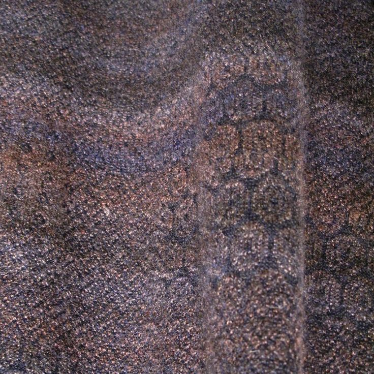 jacquard with subtle degrade space dye