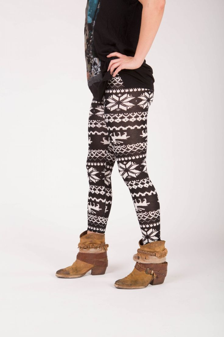 Phelan - Winter print legging