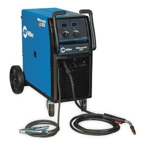 The Miller MIG Welder Wheeled 200 (208)/230VAC technical requirements product MIG welder welding processes MIG/Flux core input voltage. Bonded product moderate steel, aluminum product density moderate steel 22 gauge to 1/2 mobility wheeled installed stage 1 product density aluminum 14 gauge to 3/8 series millermatic 252 ranked output 200A at 28VDC responsibility cycle 60 % Hz 60 input amps 48/42A output variety