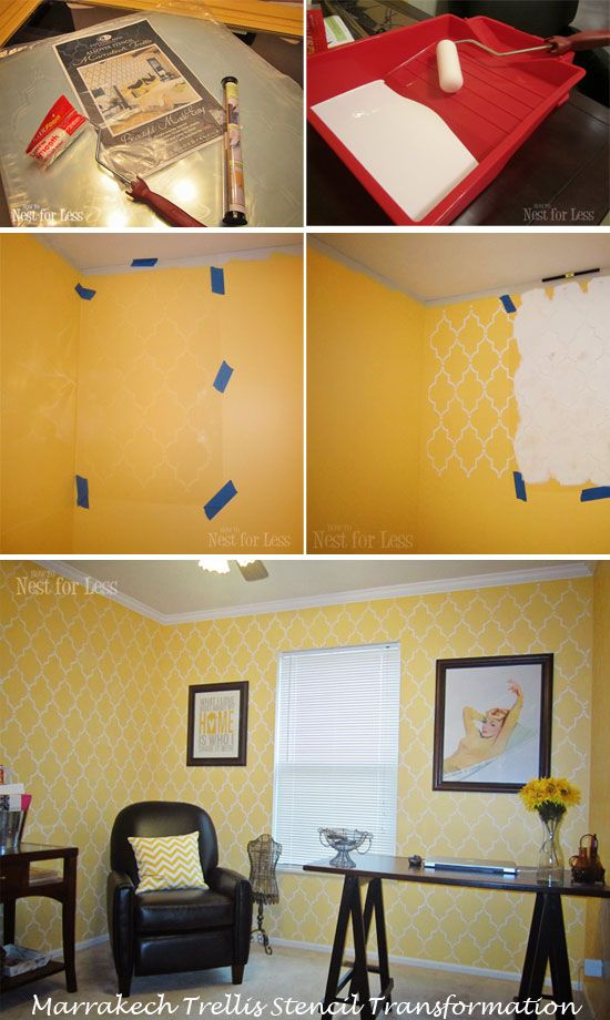 7 best Stencils images on Pinterest | Wall stenciling, Stencil and ...