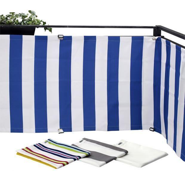 """Günstig verstecken: Balkonbespannung """"Dyning"""" von Ikea"""