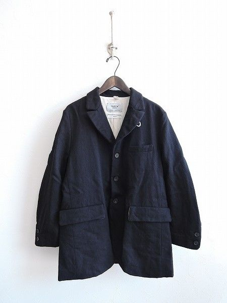 ヤエカ YAECA ウールリネンショッパーズジャケット
